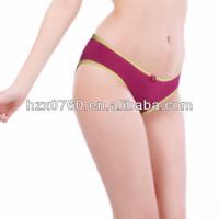 2014 Fashion Bamboo Fiber High Waist Sexy Underwear Women
