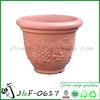 Garden deocr light weight colored plastic planter