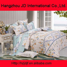 Home Textile Colorful Soft 100% Cotton Bed Sheets