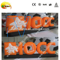 custom outdoor inflatable advertising model inflatable letter