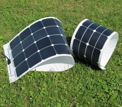 150w Mono Sunpower flexible solar panel for yacht boat RV boat pv module