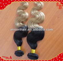 New products best selling cheap ombre hair extension