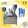 toothpaste semi automatic tube filling sealing machine