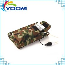 Convenient to take outside folddable solar energy charger bag for mobile phone