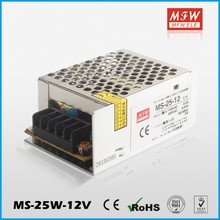 MS-25-12 wholesale ac to dc regulated power supply 25W 12v 2a