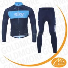bici da corsa maglia manica lunga ciclismo e pantaloni set