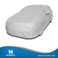 large size universal anti rain dust snow plastic car cover hail proof car cover rainproof fabric car cover