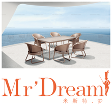 MR DREAM Rattan dining table outdoor furniture CF76