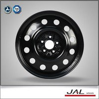 "China wholesale good quality 17"" inch black chrome steel wheel rims"