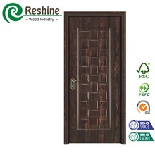 High glossy light Antik melamine mdf door skin