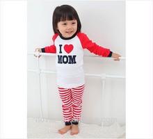 Nueva venta al por mayor niños pijama 100 algodón de los niños moda la ropa de dormir pijamas de los cabritos venta al por mayor