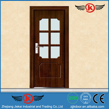 JK-P9068 JieKai laminated door with glass / internal glass door / internal door handles