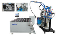 Rotated sealant spread table for double glass/sealant extruder machine/ insulating glass sealing machine/WZF2000