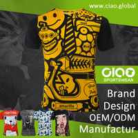 Ciao sportswear - yello party design dri fit t shirt for men