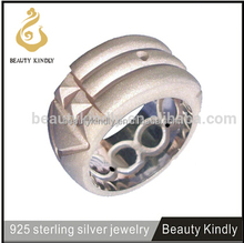 European And Ebay Hot Design Solid/Silver Ring Design Gold/Platinum Plated Mens Ring Atlantis Ring For Men