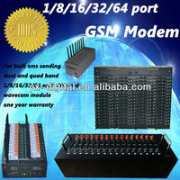 MODEM!16 ports RJ45/USB/RS232 for sms sending and receiving free software SMS CASTER/internet usb modem sim card