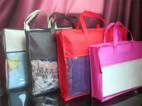 clear pvc plastic zipper bag quilt pillow blanket packaging bags