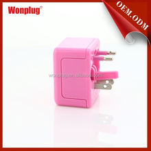 Easy Travel Good Looking odm/oem quick deliver all in one travel adapter