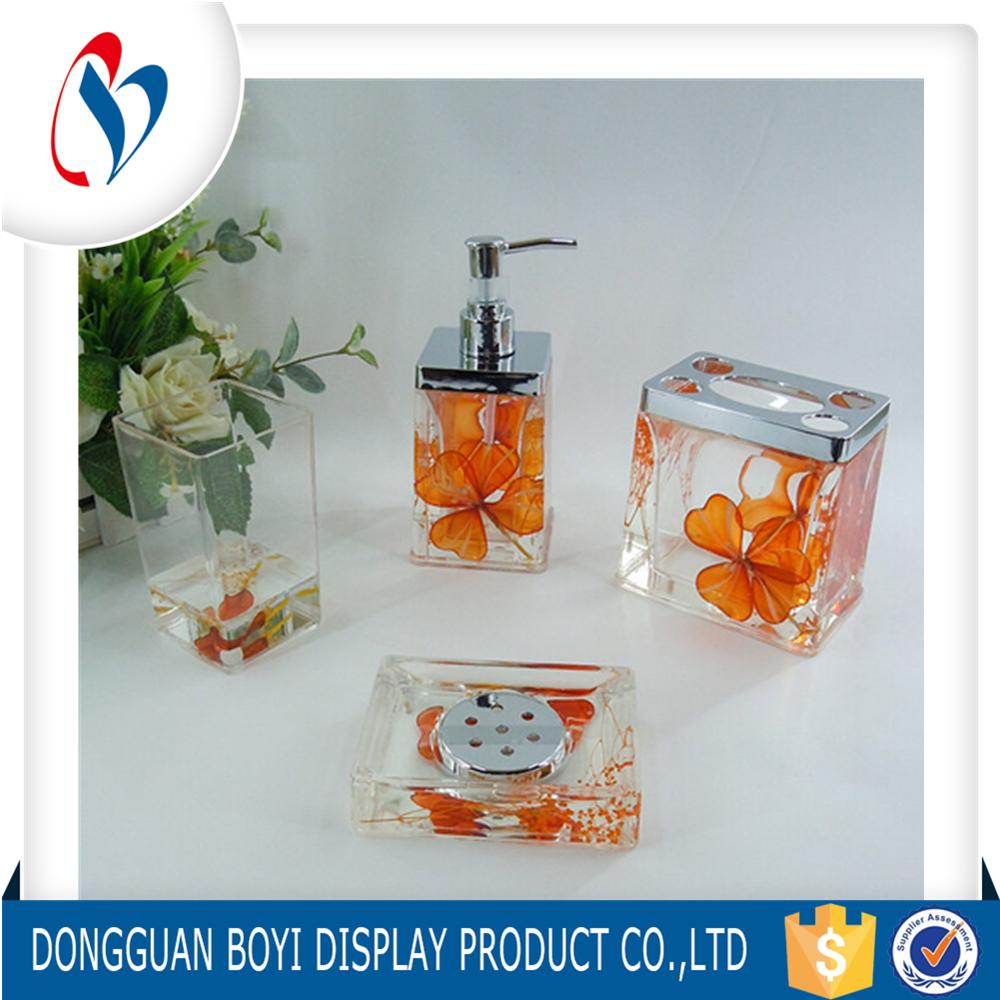 Manufacturer custom clear bathroom accessories sets for - Manufacturer of bathroom accessories ...