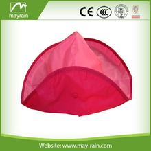 children's pvc waterproof rain hat/hood