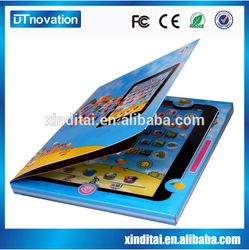 Fashion style ABS turkish toys learning tablets for kids