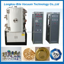 glass craft/pottery metallizing coating/plating equipment machine