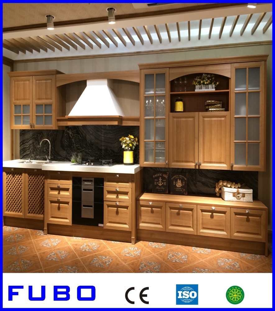 2015 New Design Customized Kitchen Cabinet Solid Wood Buy New Design