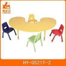 Ajustável mesa e cadeira para crianças