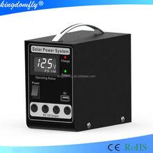 smart 5w solar power system kit from shenzhen factory for Bruma market