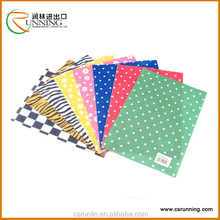 Waterproof Printed Felt Fabric Material PP Sheet customer design acceptable
