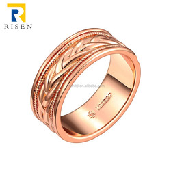 gold plated jewelry latest gold finger ring designs GPR685-B