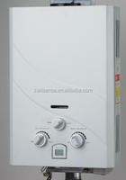 6L Indian Market Zero Water Pressure Valve Gas Geyser