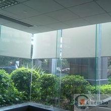 diseño de moda oscuras claro cortina enrollable de plástico