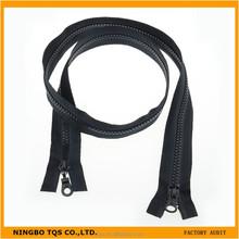 Cheap Accessory Open End Plastic Two Way Zipper