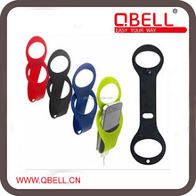 Promotion Folding Colorful Silicone Mobile Phone Charge Stand Holder/mobile phone wall holder
