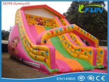large inflatable picture slide / inflatable slide with picture / inflatable slide for commercial