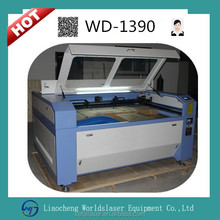 1390 100w CNC CO2 Laser Type and Water Cooling Cooling Mode Wood acrylic marble / granite stone laser engraving machine