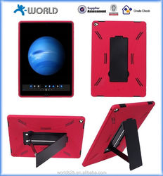 Hybrid High Impact Resistant Rugged back Cover Kickstand Case for iPad pro