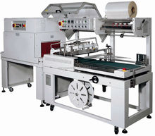 High efficient auto l type pof shrink film machine