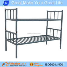 GLT-AA21 strong metal bunk bed, combine two bed to bunk bed,one price two usd bed