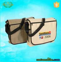 reuseable shoulder canvas messenger bag