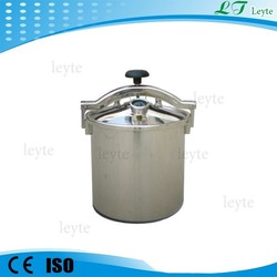 LT-12HM high quality portable autoclave machine Electric or LPG heated