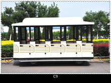 New type road trackless trains for adults and kids for sale in scenic spots!