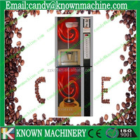 cofee vending machine with 7 hot and 7 cold drinks