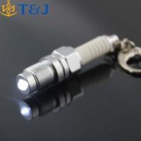 >>>Latest Design Spool Drift JDM TDI VAG Novelty Gift Auto Parts Model Spinning Ring Key Spark Plug LED Light Keychain/