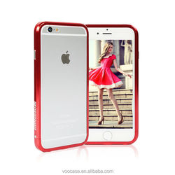 2015 aluminum bumper cell phone case/phone accessory for i phone6/for iphone cover
