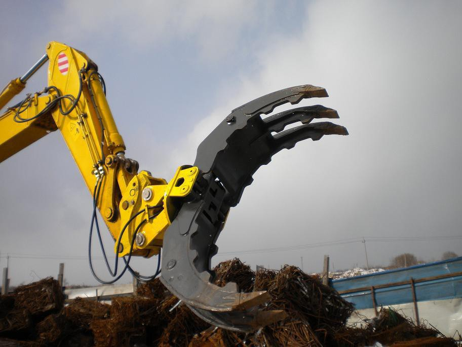 Excavator Demolition Grapple Multifunctional Rock Grapple