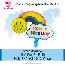 Advertising promotional metallized nylon balloon