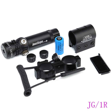 Hunting Tactical green beam laser sight with rail mount, hunting accessory riflescope