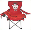 Folding fabric camping chair,Discount foldable chair.